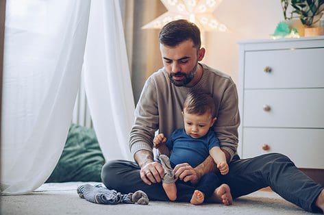 Download onze vaderdagkaart mét sokkenmop