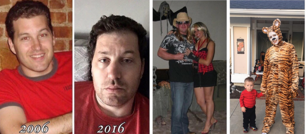 voor en na kinderen
