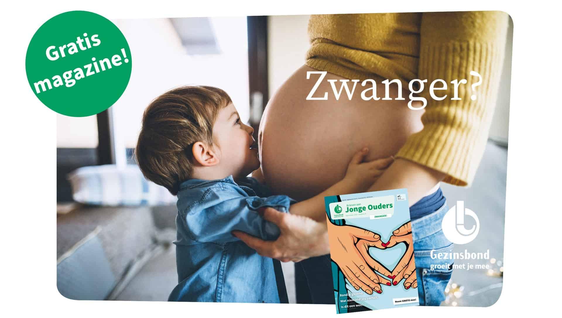 Zwangerschapsnummer 'Brieven aan Jonge Ouders' aanvragen
